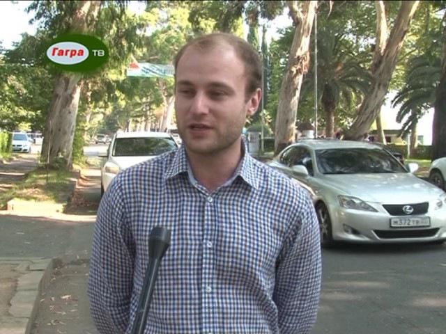 В Гагре по инициативе движения Послы доброй воли Абхазии установлены лежачие по...