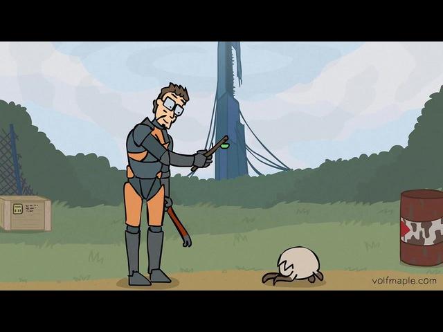 Хедкраб, принеси палку! (анимация: VolF Maple)