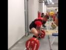 Кшиштоф Вербицкий, тяга 370 кг