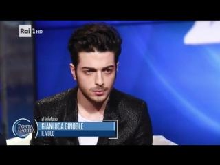 Gianluca ginoble - porta a porta 19/01/17