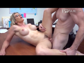 SpyFam Cory Chase ( Step-Son Sexually Harassed By Step-Mom At Work)