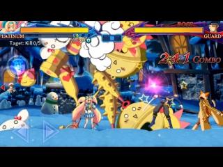 Обзор Platinum the Trinity BlazBlue RR - Real Action Game