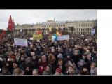 Выступление О. Ю. Корнеева в защиту Гидромета (РГГМУ) на марше