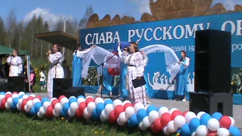 Начало праздникаСлава русскому оружию Д.Самушкино 27 мая 2017