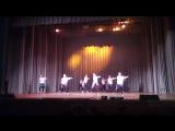 Крючкова Яна и её танцевальный коллектив на Аэроденсе 2017