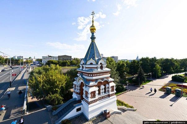 Серафимо-Алексеевская часовня в Омске