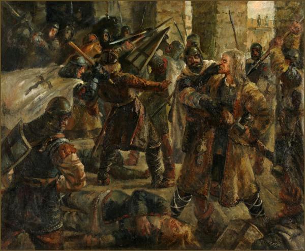 Эстонский бунт 1343 года.