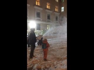 Чистилка снега!