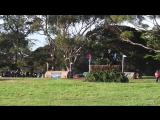 Jock Paget on Angus Blue at the 2017 Melbourne International 3 Day Event xc