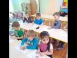 Видео отчёт о том, как наши Дети лепят с нашей замечательной Гульнарой!