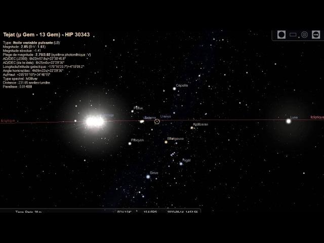 Попятные движения планет