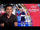 Mario Lopezs favourite Oscar de la Hoya becomes the Golden Boy My Olympic Moment