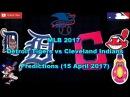 MLB The Show 17 Detroit Tigers vs Cleveland Indians Predictions #MLB2017 (11 April 2017)