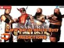 NJPW Sakura Genesis 2017 IWGP Tag Team Championship Tencozy vs. War Machine Predictions