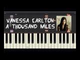 Vanessa Carlton - A Thousand Miles - Piano Tutorial by Amadeus (Synthesia)