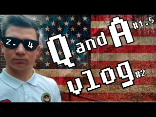z.4 Life in the USA | vlog # 2 + Q and A # 1.5