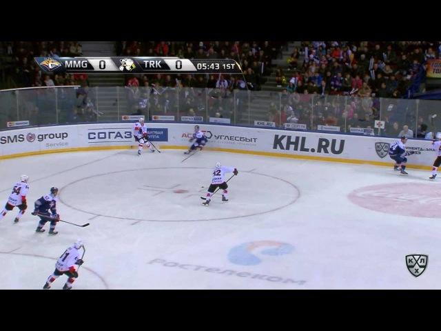 КХЛ (Континентальная хоккейная лига) - Моменты из матчей КХЛ сезона 16/17 - Опасный момент. Шаров Ал