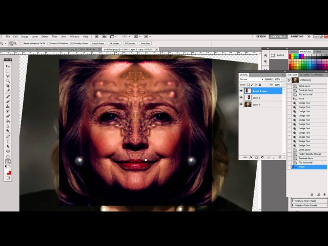 Hillary Clintons' Real Face