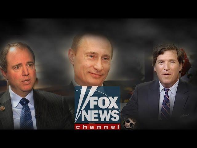 И снова Путин. Скандал в прямом эфире американского канала FOX!