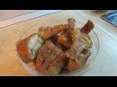 Жареный морской окунь Рецепт пошаговое видео процесса приготовления