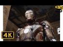 Тони Старк возвращает Свой Костюм Марк 42 Сцена Бегства Железный человек 3 4K ULTRA HD