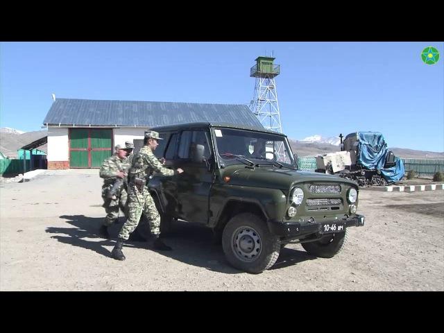 Задержание нарушителя Государственной границы/ Казахстанские пограничники
