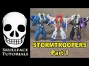 Transformers 3rd Party DX9 Stormtroopers Part 1 (Starscream, Thundercracker, Skywarp)