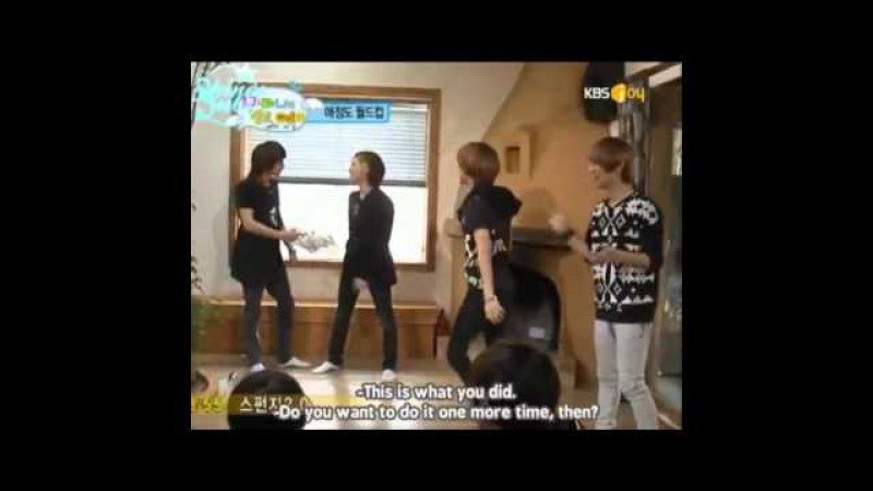 (Eng Sub)SHINee Hello, baby! Funny Moments Pt.3