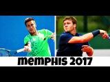 Ryan Harrison vs Damir Dzumhur MEMPHIS 2017 Highlights