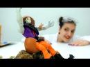 Видео Барби что делать с яйцом динозавра Ловушка для Джокера. Видео про кукол и...