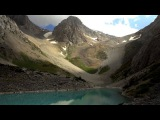 Sayramsu Lakes 4К Озера Сайрамсу