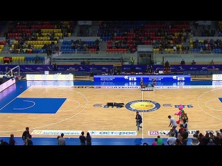 funny half-court shot on BC ENISEY game