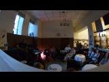 Песня Каштаны в кофейне barista Донецк