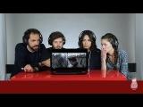 Итальянцы смотрят клип