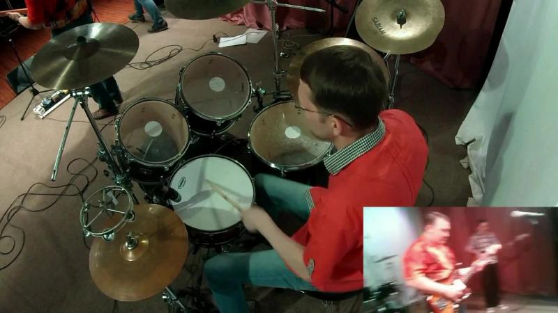 Bum Shakers-Sergei Mayorov drum cam - Village Dance