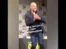 Graham McTavish SDCC OUTLANDER 2017