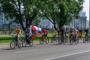 Велопробег ко Дню России  11 июня 2017 года