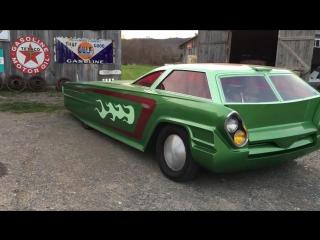 """""""зеленый гоблин"""" задне моторный  от caddy 501"""