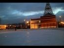 Пробежка по льду. Первый раз в этом году - после школы.