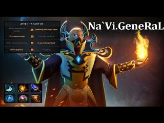 Na'Vi.General Invoker 7.02 Gameplay