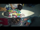 Surfboard Art with POSCA Paint Pens
