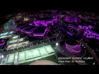 The 5th Asian Indoor and Martial Arts Games will be held in Ashgabat, Turkmenist