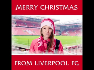 Merry Christmas from Liverpool FC 🎄