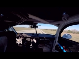 Former MLB All-Star pitcher CJ Wilson logged the first test laps in his new Porsche GT3 Cup Car