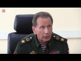 Глава Росгвардии Виктор Золотов приехал к раненому бойцу в госпиталь