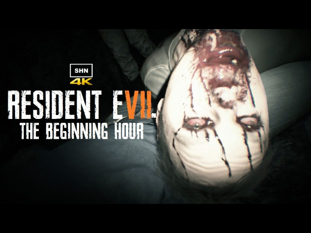 RESIDENT EVIL 7 : The Beginning Hour 4K 1080p/60fps All Murder Clues No Commentary Walkthrough