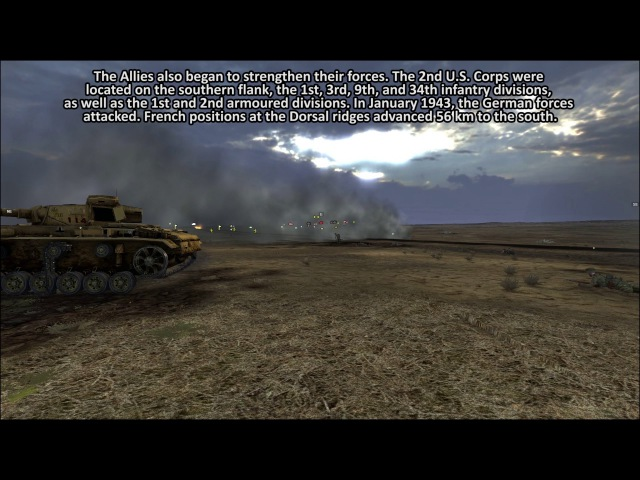 Tank Warfare: Tunisia 1943 Gameplay Trailer
