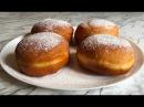 Пончики с Повидлом Берлинеры Donuts With Jam Пошаговый Рецепт Очень Вкусно