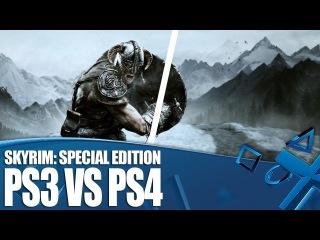 Skyrim Special Edition - PS3 versus PS4 Graphics Comparison