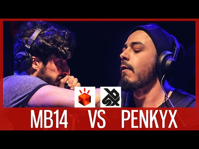 MB14 vs PENKYX | Grand Beatbox LOOPSTATION Battle 2017 | SMALL FINAL